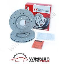 Zimmermann Disques de frein perforés avant revêtement BMW x3 e83 + x5 e53 ø 332 MM