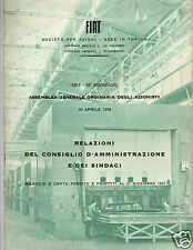 FIAT 500 600 MULTIPLA C40N TRATTORE G91 AEREO TRENO Lovely Book 1958 pagina 48