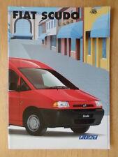 FIAT SCUDO orig 2001 UK Mkt prestige sales brochure