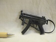 V115 Dollhouse Military Hot SP4 Black Machine Gun Miniature re-ment Tomy scale
