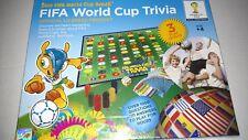 2014 FIFA BRAZIL BRASIL WORLD CUP TRIVIA GAME SOCCER FOOTBALL BOARD USA- NEW