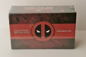 Deadpool Merc With A Mouth Loot Crate (Apron,Lanyard,Pin,Socks) Limited Box