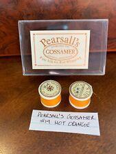 Pearsall's Gossamer Threads - #19 Hot Orange - Fly Fishing
