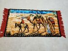 Turkish Wall Tapestry,  Camels, 40 X 20
