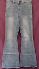 "LUCKY BRAND sz 8/29 ""THE BELL FLARE"" HANDCRAFTED GOODS BLUE JEANS (#D18)"