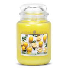 Goose Creek Lemon Peel Large Jar Candle 24oz Dual Wick