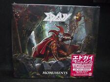 EDGUY Monuments JAPAN 2CD + DVD Tobias Sammet's Avantasia Squealer Shaman Angra