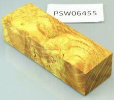 Maulbeerbaum orange stabilisiert | 130x40x30 | puq stabwood | mulberry burl 6455