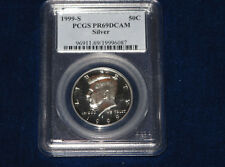 1999-S Kennedy Silver Half Dollar PCGS PR69DCAM Gem Proof E1348