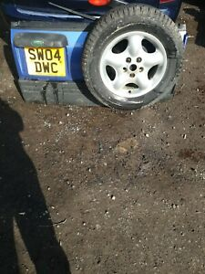 Genuine Land Rover Freelander 1 back door tailgate handle only