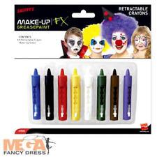 Make-up facepaint Crayones Fancy Dress Costume palos de pintura de la cara de payaso Etc