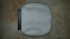 2013-2017 CHRYSLER TOWN & COUNTRY DODGE CARAVAN LEATHER HEADREST COVER 2ND ROW