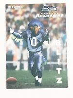 Seattle Seahawks BLITZ Mascot Card - Ready Set Goals Literacy - Limited Edition