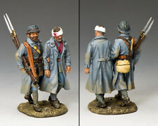 King and Country Ww1 French - Poilus Walking Wounded FW178
