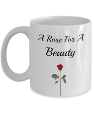 A Rose For A Beauty-Coffee Mug