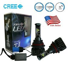 9004 HB1 Cree LED Headlight Bulbs 80w 6000K High Low Beam Light Conversion Kit