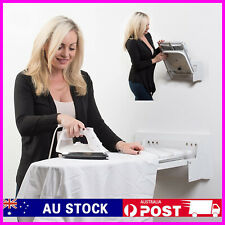Fully Foldable Wall Mount Ironing Board Home Space Saving Folding Iron Gift Idea