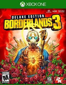 BRAND NEW & FACTORY SEALED - Borderlands 3: Deluxe Edition (Xbox One)