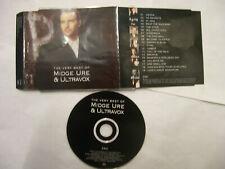 MIDGE URE & ULTRAVOX The Very Best Of - 2001 UK CD PROMO – Synth-Pop - RARE!