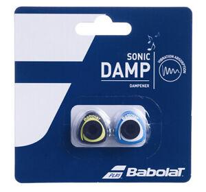 Babolat Sonic Damp Tennis Vibration Dampener - Pack of 2 - Blue / Yellow