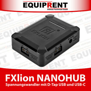 FXlion NANOHUB Spannungswandler mit D-Tap USB-C in/out Power Delivery 60W EQR60