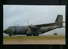 A TRANSALL C160 TRANSPORT FRENCH AIR FORCE POSTCARD