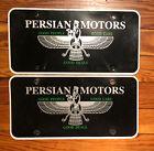Dealer+License+Plates+Persian+Motors+Astoria+Oregon+Iran+Portland