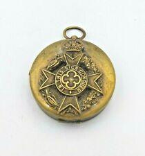 More details for vintage chaplain / s brass directional souvenir compass
