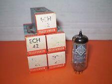 5 X ECH42-TELEFUNKEN-NOS/NIB- TUBES.