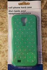 Samsung Galaxy S4 Green with studs hard cell phone case