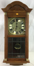 D & A Wood Wall Clock Lot 2079A