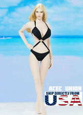 1/6 Women Sexy Bikini Swimsuit One Piece For Phicen Hot Toys Female Figure USA