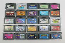 Lot of 25 Game Boy Advance Games - Frogger's Journey, Kingdom Hearts, Mario Kart