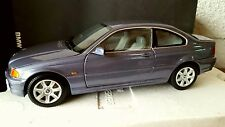 BMW COUPE SERIE 3 E46 STALHGRAU 318CI KYOSHO 1/18 DEALER EDITION