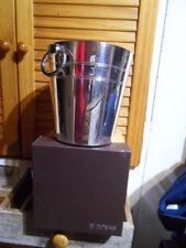Seau à champagne glacons ancien métal argenté orfèvrerie St-Médard ice bucket