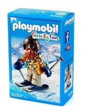 Playmobil Family Fun Skifahrer mit Snowblades 9284 Neu & OVP Wintersport Ski