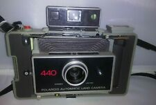 Vintage Polaroid 440 Automatic Land Camera w/ Timer,  good condition