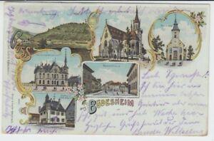 Ansichtskarte Rheinland - Pfalz Büdesheim Bingen Scharlachberg Weinbau 1903