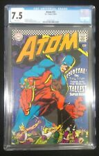 The Atom #32 CGC 7.5 VF- 1967 WHITE Pages!!! Flawless New CGC Case Gil Kane