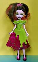 MONSTER HIGH: SCARILY EVER AFTER: SNOW BITE DRACULAURA DOLL TARGET EXCLUSIVE !