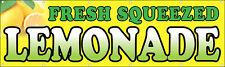 3x10 ft Vinyl Banner Sign New - FRESH SQUEEZED LEMONADE