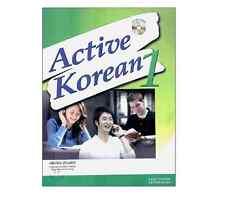Active Korean 1 Korean Language Book w/ Audio CD Hangul Seoul SNU