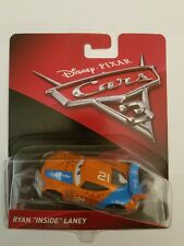CARS 3 -  RYAN INSIDE LANEY  -  Mattel Disney Pixar - RARISSIMO