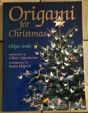 Origami For Christmas By Chiyo Araki