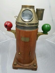 Henry Browne & Son Sestrel Type A Ship Yacht Binnacle Compass Barking Essex RARE