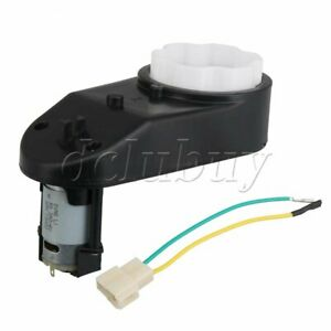 390 DC6V 18000RPM Drive Engine Motor Gearbox for Electric Ride on Car