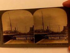 WWI ERA KEYSTONE STEREOVIEW PIC 10370 GERMAN SOLDIERS LISTENG TO ADDRESS KAISER