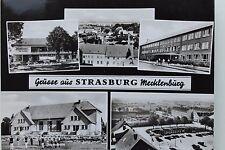 27285 AK STRASBURG Mecklenburg Kaufhaus Jugendheim Platz J. Gagarin Schule 1968
