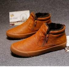 Winter Men Waterproof Snow Ankle Boots Thicken Non-slip Zipper Warm Thicke Shoes