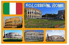 COLOSSEUM, ROMA, ITALIA - RECUERDO ORIGINAL IMÁN DE NEVERA - MONUMENTOS